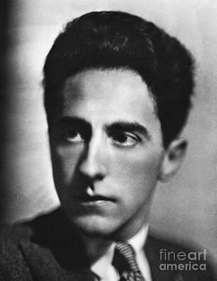 Jean Cocteau (1889-1963) Print by Granger