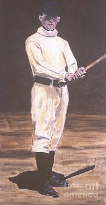 Baseball History Painting - John Mcgraw by Ralph LeCompte