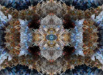 Kaleidoscope Print by Christopher Gaston