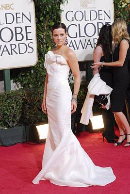Kate Beckinsale Wearing A J. Mendel Print by Everett