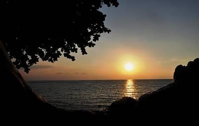 Sunsets Photograph - Kona Sunset II by Danielle Del Prado