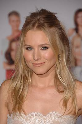 2010s Makeup Photograph - Kristen Bell At Arrivals For You Again by Everett