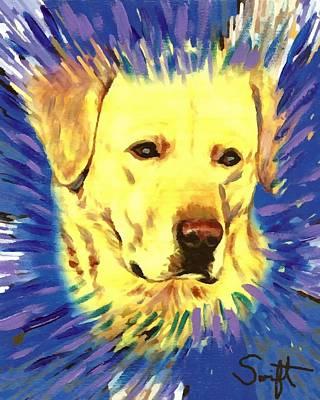 Labrador Retriever Painting - Labrador Retriever by Char Swift