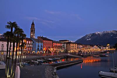 Lake Maggiore - Ascona Print by Joana Kruse