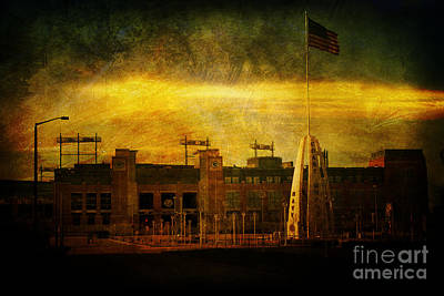 Lambeau Field Print by Joel Witmeyer