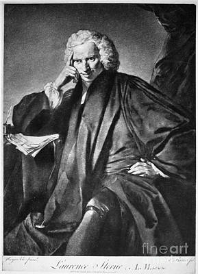 Laurence Sterne (1713-1768) Print by Granger