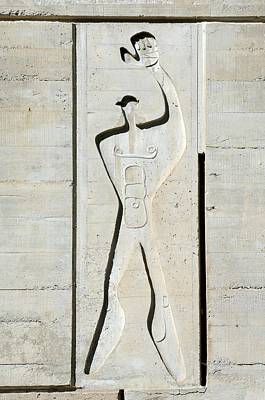 Le Corbusier Design Print by Chris Hellier