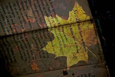 Leaves Print by Odd Jeppesen