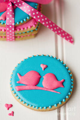 Lovebird Photograph - Lovebird Cookies by Ruth Black