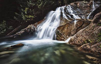 Lower Cascades Of Malachite Creek Print by A A