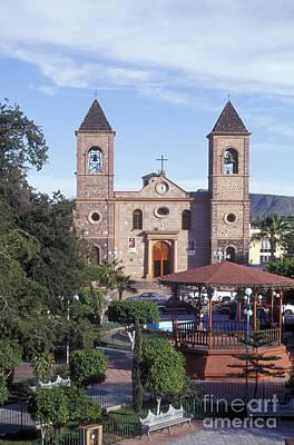 Mexico Photograph - Main Plaza La Paz Baja Mexico by John  Mitchell