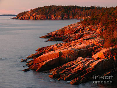 Acadia National Park Photograph - Maine Granite Coast by Juergen Roth