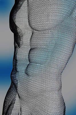 Nude Digital Art - Male  by Mark Ashkenazi