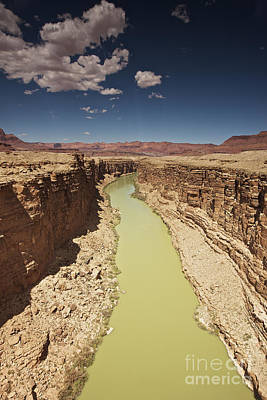 Marble Canyon, Arizona, Usa Print by Terry Moore