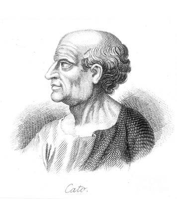 Marcus Porcius Cato Print by Granger