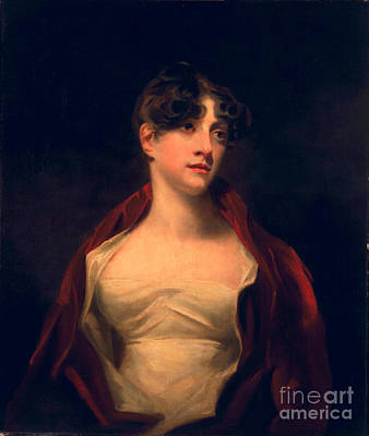 Gown Painting - Margaret Moncrieff by Sir Henry Raeburn