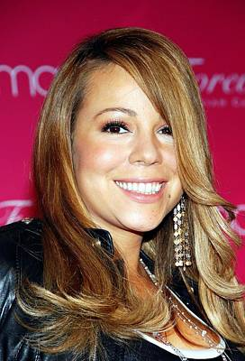 Perfume Fragrance Scent Launch Photograph - Mariah Carey In Attendance For Launch by Everett