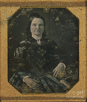 Mary Todd Lincoln, First Lady Print by Photo Researchers