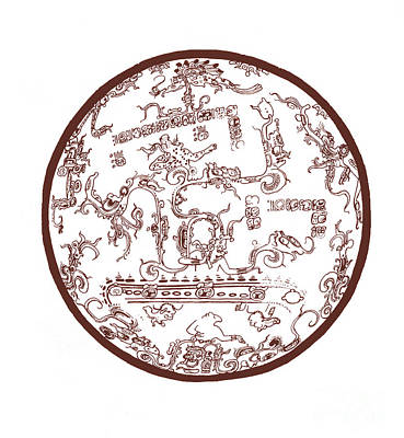 Mayan Cosmos Print by Science Source