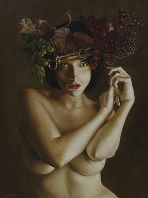 Quadri Painting - Meduse by Gianluca Mantovani