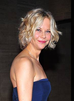 Opening Night Photograph - Meg Ryan At Arrivals For The by Everett