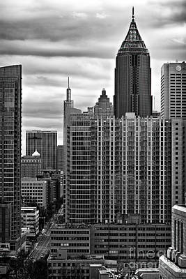 Atlanta Photograph - Midtown From 1010 by Doug Sturgess