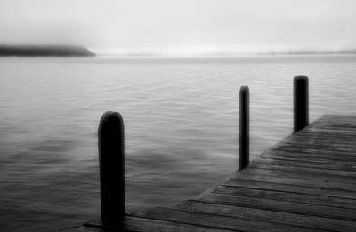 Mist On The Lake Print by Steven Ainsworth
