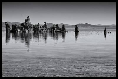 Crowley Lake Photograph - Mono Lake Tufa by Linda Dunn