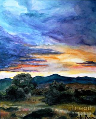 Openness Painting - Montana Sky by Jana Barros