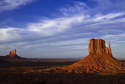 Valley Photograph - Monument Valley At Dusk by Andrew Soundarajan