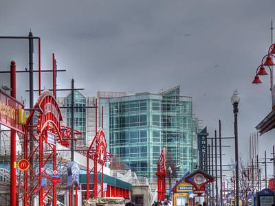 Digital Art - Navy Pier by Barry R Jones Jr