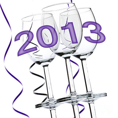 New Year 2013 Print by Blink Images