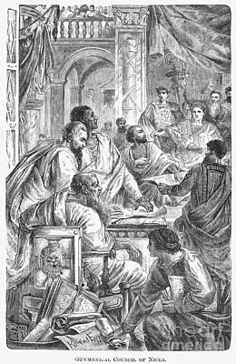 Nicaea Council, 325 A.d Print by Granger