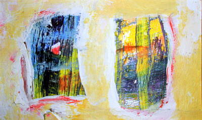 Painting - Night And Day Climb In Thru Windows by Paul Pulszartti