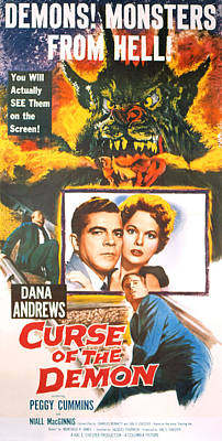 Night Of The Demon, Aka Curse Of The Print by Everett