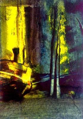 Painting - Night Piece by Paul Pulszartti