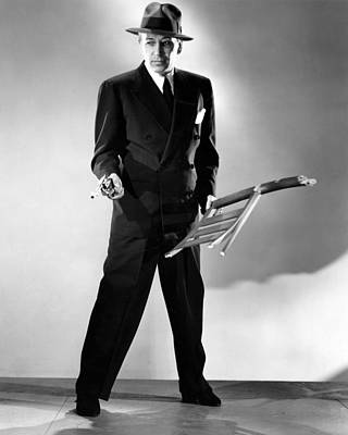 1946 Movies Photograph - Nocturne, George Raft, 1946 by Everett