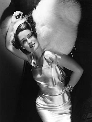 Norma Shearer Print by Everett