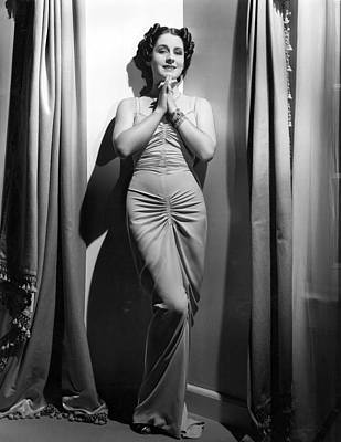 Hurrell Photograph - Norma Shearer, Mgm Photograph by Everett