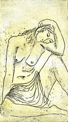 Nude II A.p. Original by Karin Zukowski