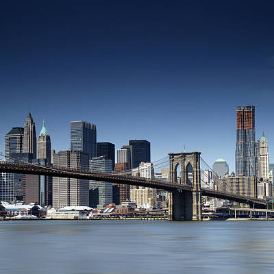 Times Square Photograph - Nyc Skyline by Nina Papiorek