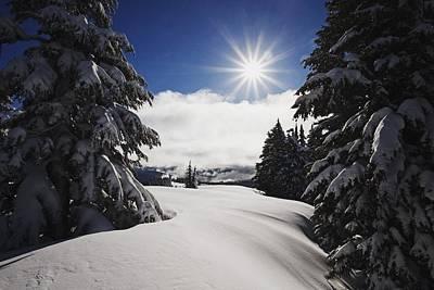 Oregon Cascades, Oregon, United States Print by Craig Tuttle