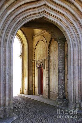 Brick Building Photograph - Palace Arch by Carlos Caetano