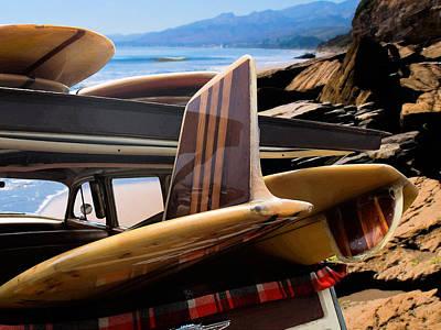 Classic Woodie Digital Art - Paradise Found by Ron Regalado
