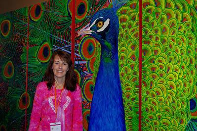 Lisa Rodriguez Photograph - Peacock Pride by Lisa Rodriguez