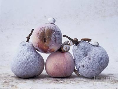 Pears And Apples Print by Bernard Jaubert