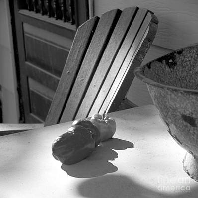 Screen Doors Photograph - Peppers On The Stoop by Gordon Wood