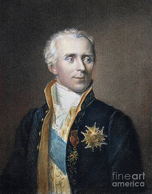 Pierre-simon De Laplace Print by Granger