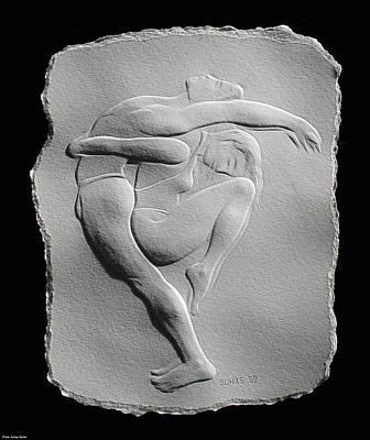 Dancer Relief Relief - Pilobilus Dancers by Suhas Tavkar