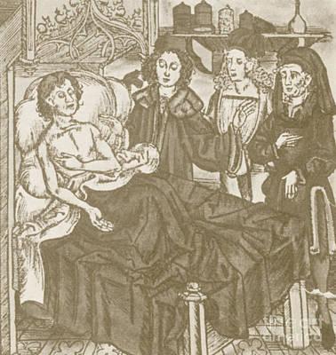 Plague Victim Print by Science Source
